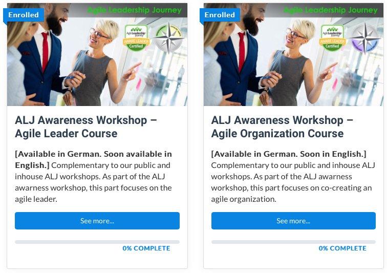 Agile Leadership Online Kurs