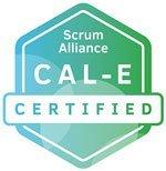 Agile Leadership CAL-E Badge